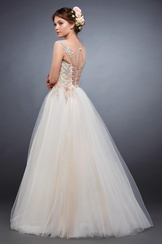 Фото свадебного платья Акварель