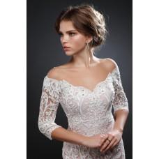 Свадебное платье для широких плеч: удачные решения