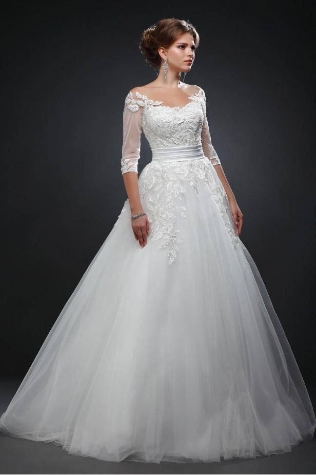 Фото свадебного платья Паола