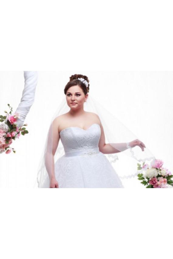 Какой фасон свадебного платья выбрать для полных?